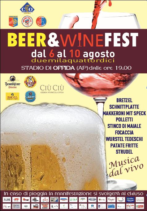 Offida, Beer&Wine fest