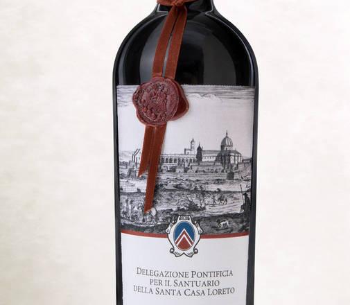 Vino della Santa Casa presentato a Loreto in occasione dell'accensione della Lampada per l'Italia