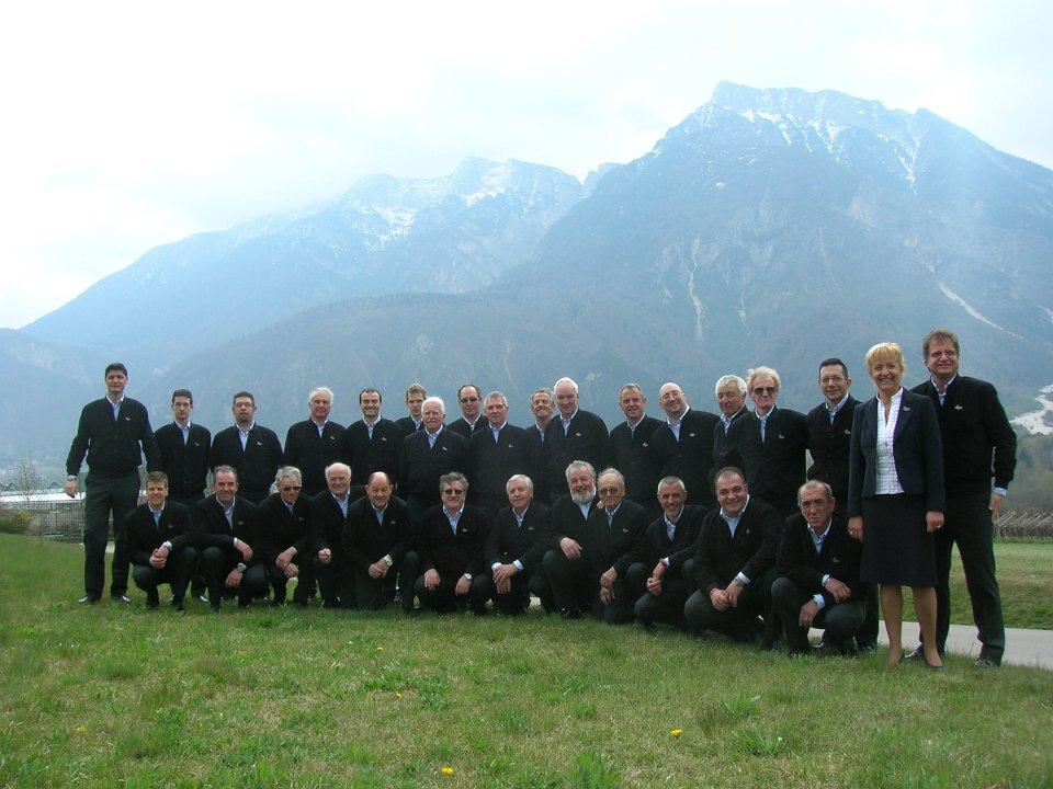 Il Coro Cima Vezzena a S.Maria della Rocca