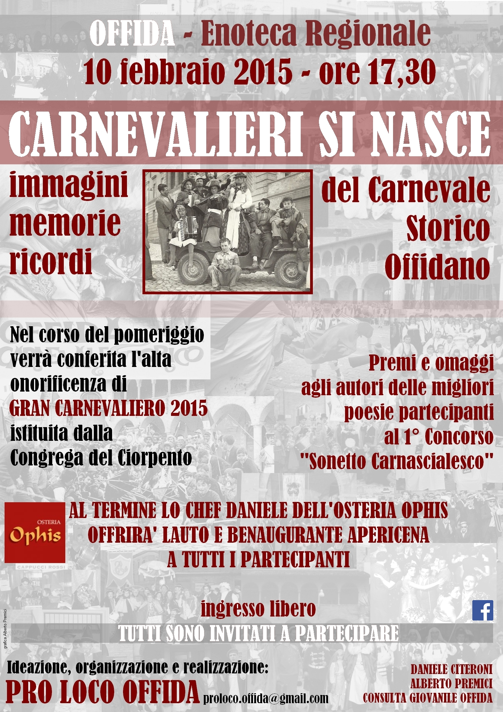"""Carnevalieri si nasce 2015"""