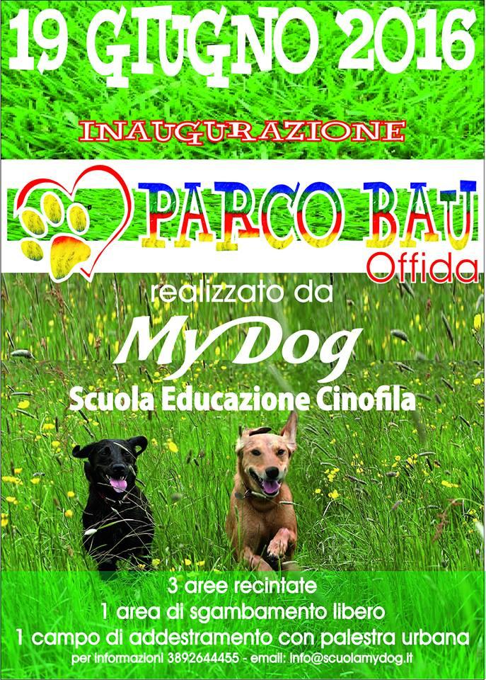 """Offida, inaugurazione del """"Parcobau"""""""