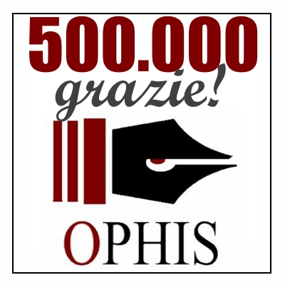 OPHIS, 500.000 grazie !