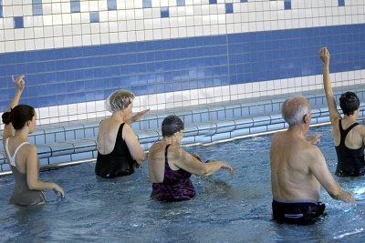 Offida, attività motoria in piscina per ultrasessantenni